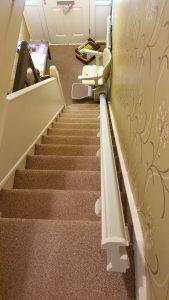 Stairlift Installation upstairs