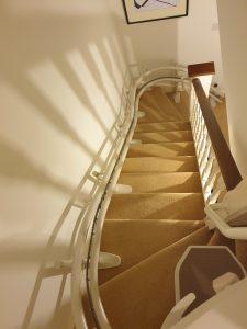 Curved-Stairlift-Siena-260-Faversham-kent