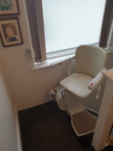 Stannah 600 Reconditioned Stairlift Higher Elevation