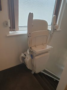 Stannah 600 Reconditioned Stairlift Higher Elevation Straight Stairlift