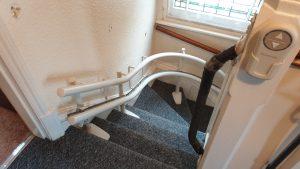 Stannah Siena 260 Reconditioned Stairlift Beckenham Installation