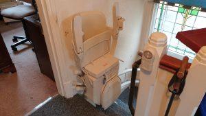 Stannah-Siena-260-Reconditioned-Stairlift-Beckenham-Installation