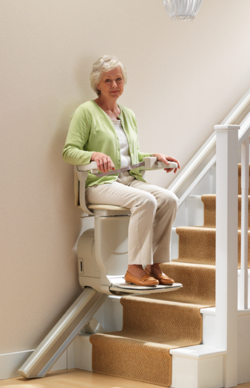 Stannah Curved Stairlift Siena 260