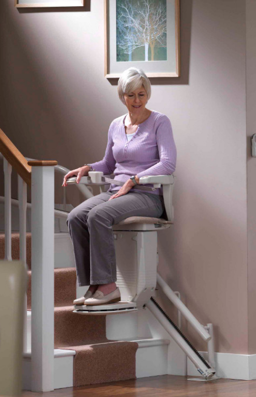 Stannah Curved Stairlift Starla 260